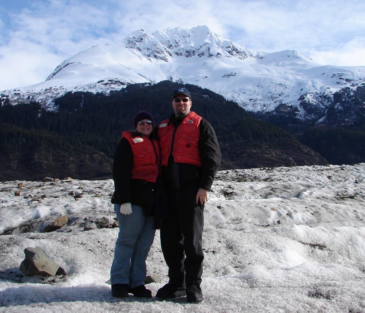 Richard & Allison on Glacier